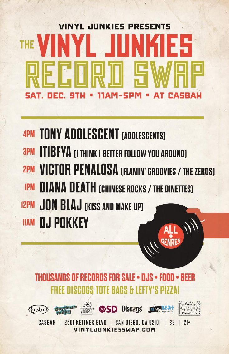 Vinyl junkies dec 3