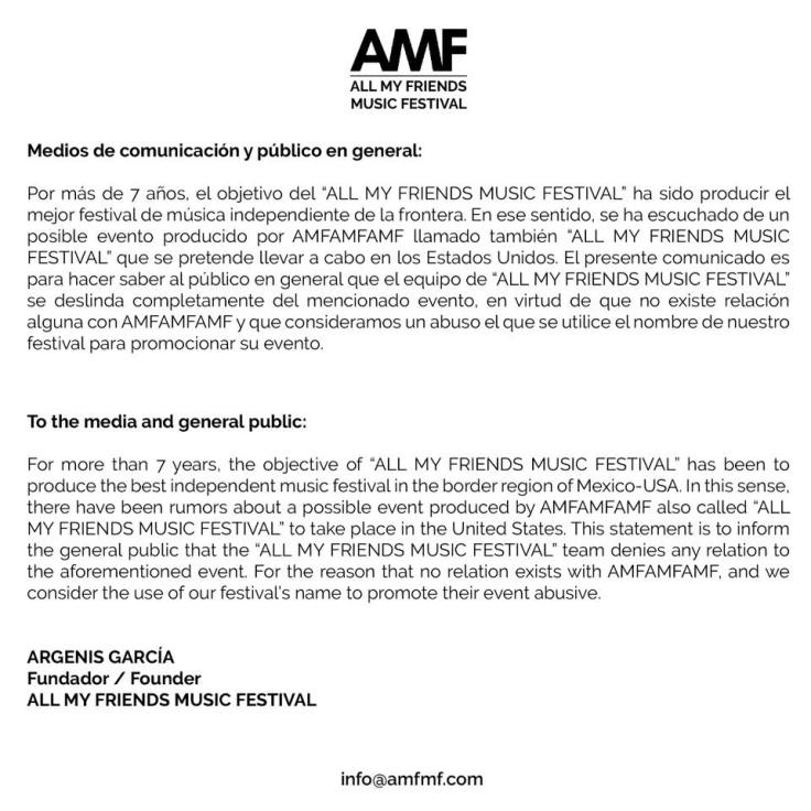 AMF Message
